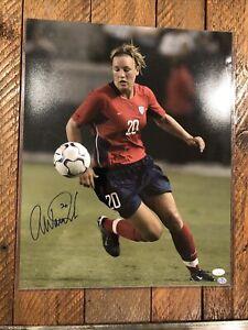 Abby Wambach 16x20 Photo -  JSA Certified! HoF! Women's World Cup!