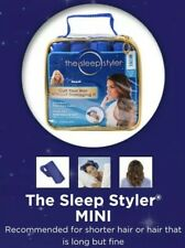 The Sleep Styler 12 Mini Rollers Short Fine Hair Curlers Soft Foam As Seen on TV