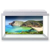 Fish Tank Background 90x45cm - Cala Domestica Beach Sardinia  #21304