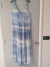 LAGENLOOK ITALIAN BLUE TIE DYE MAX DRESS 16 18 20 BNWT