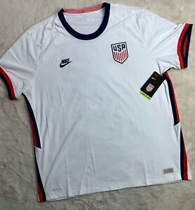 XXL Nike USA VaporKnit Match Home Jersey White 2020-21 Size XXL CD0592-100 NEW