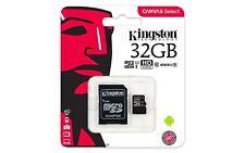 Kingston Canvas MicroSDHC 32 Go Class 10 Carte Mémoire (SDCS/32GB)