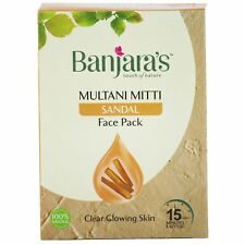 Banjaras Multani Mitti with Sandal Face Pack 100 g (20 g x 5 n)
