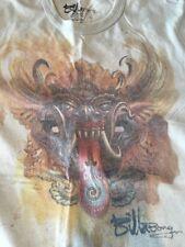 50/50 T-Shirt Men's Large Billa Bong - Dragon Mask Image
