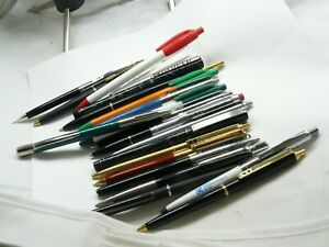 VINTAGE PAPER MATE DOUBLE HEART HUGE LOT BALLPOINTS AND PENCILS