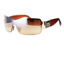 DG Eyewear Womens Mens Shield Designer Sunglasses Shades Fashion Retro Wrap USA