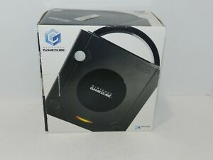 Black Nintendo Gamecube System Console Complete in Box CIB DOL-001 Tested