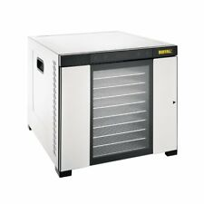 More details for buffalo stainless steel food dehydrator 10 s/s trays 24hr timer - cs950 catering