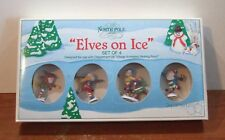 Dept 56 North Pole Series Elves on Ice #52298 NEW IN BOX (Y52)