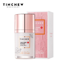 TINCHEW Snail Facial Primer BB Cream Face Makeup Foundation Skin Coverage Beauty