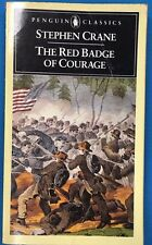 THE RED BADGE OF COURAGE by Stephen Crane (1985) Penguin pb