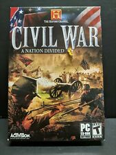 History Channel: Civil War -- A Nation Divided (PC, 2006) Brand New Sealed