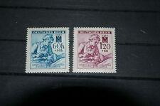 """Deutsches Reich """"Böhmen und Mähren"""" Mi 111-112 postfrisch *Rotes Kreuz*"""