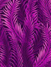 1 yard Dreamweaver Feathers Jason Yenter In the Beginning Fabrics Magenta