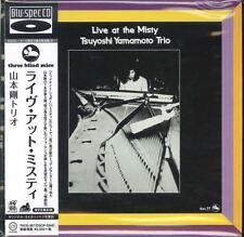 Tsuyoshi yamamoto Trio-Live at Misty-japón mini LP Blu-Spec CD f56