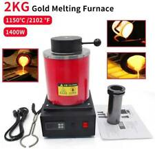 Electric Digital Automatic Melting Furnace Gold Silver Metal Jewelry Smelter 2KG