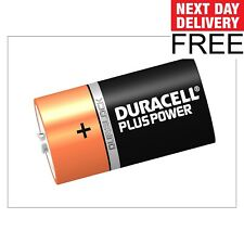 Duracell D Cell Plus Power Batteries Pack of 2 LR20/HP2 F&F