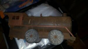 Antique Collectable Metal Cor Cor Train Needs Total Restoration