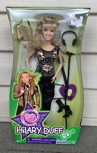 "2003 HILARY DUFF 11.5"" Fashion Doll Figure Musician Celebrity Playmates MIB"
