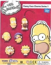 Gacha Tomy TYC The Simpsons Funny Face Charms Head Danglers #1 COMPLETE SET