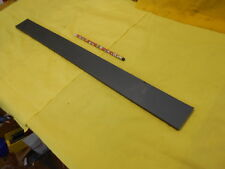"GRAY NYLATRON FLAT STOCK machinable plastic sheet bar  1/4"" x 2"" x 24 1/8"""