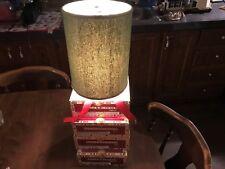 Table Top Romeo Y Julieta (4) Cigar Box Lamp Very Well Made Lot# 0375