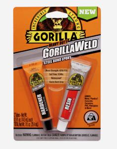 Gorilla Heavy Duty GORILLAWELD Steel Bond EPOXY Dark Gray Waterproof 10 Min Set
