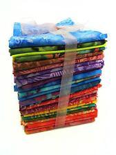 25 x FQ BATIK mystery bundle of Fat Quarters, quilt stash builder - 100% cotton
