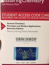 MasteringChemistry General Chemistry: Principles and Modern Applications 11th Ed