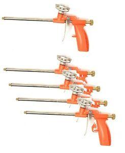 5x Schaumpistolen Bauschaum PU Abdichtungspistole Schaum Bauschaumpistole