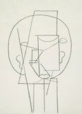 Head, 1913, PICASSO, Cubism, Surrealism, Expressionism Art Poster