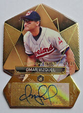 Omar Vizquel 2014 Topps Supreme Styling Autograph #28/35 Cleveland Indians Auto