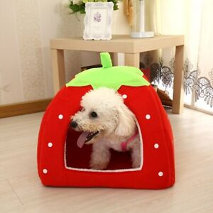 Pet Dog Cat Bed House Tent Kennel Warm Mat Pad Basket Cave Pet Products Supplies