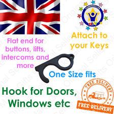 Contactless Safety Door Opener Hand Hook No Touch Elevator Handle Tool Key UK