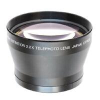 72mm 2.2x Teleobjektiv Telekonverter Für Canon Nikon Sony Kameras 18-200mm