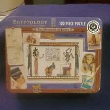 Egyptology Search for the Tomb of Osiris - 100 piece puzzle in tin. New ages 5+