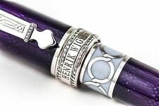 David Oscarson Henrik Wigstrom Trophy Violet Diamond Edition Fountain Pen