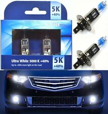 Flosser 40% White 5000K H1 55W Two Bulbs Fog Light Replacement Lamp Upgrade OE