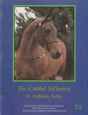 The Crabbet Influence in Arabians Today 1990 Back Issue-choose your issue!