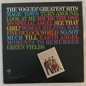 1969 W7 REPRISE THE VOGUES' GREATEST HITS PROMO WLP RS 6371 ST VG RARE VHTF