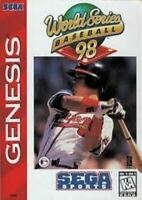 World Series Baseball 98 - Sega Genesis Game Authentic