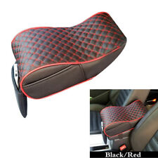 PU Leather Car Seat Armrest Height Pad Console Box Arm Rest Mat Cover Cushion