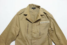 A.P.C. APC Khaki Shoot them in the back Safari Jacket size XSmall XS Retail $325