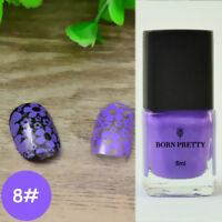 Born Pretty 6ml Stamping Polish Nail Art  Stamp Plate Print Varnish #8