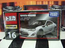 TOMICA PREMIUM #16 TOYOTA 86 GRMN 1/59 SCALE NEW IN BOX