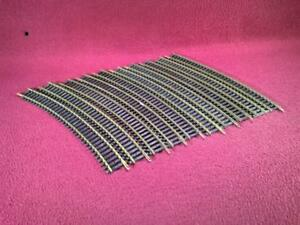 #8 HO GAUGE BRASS CODE 100 TRACK - 10 R18 CURVE SECTIONS - BACHMANN
