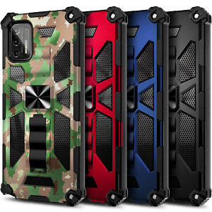 Case For Wiko Ride 3 Case Full Body Built-in Kickstand Cover + Tempered Glass