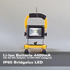Led Pila Focos 10W Blanco Cálido Proyector Luz de Trabajo Foco de Construcción