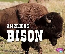 North American Animals Ser.: American Bison by Steve Potts (2012, Paperback)