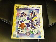 1994 MINNESOTA VIKINGS FOOTBALL YEARBOOK NR MINT CRIS CARTER WARREN MOON COVER